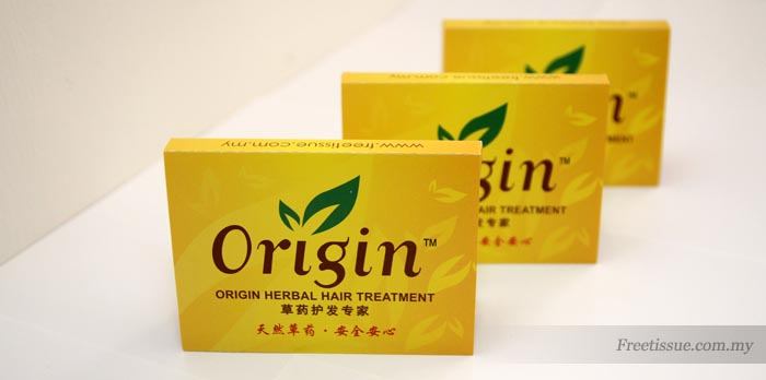 Origin Herbal Hair Treatment